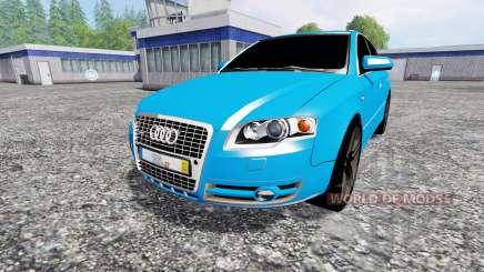Audi A4 quattro Avant (B7) para Farming Simulator 2015
