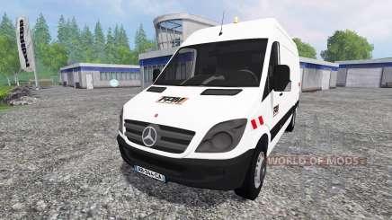 Mercedes-Benz Sprinter 311 CDI para Farming Simulator 2015