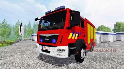 MAN TGM Feuerwehr para Farming Simulator 2015