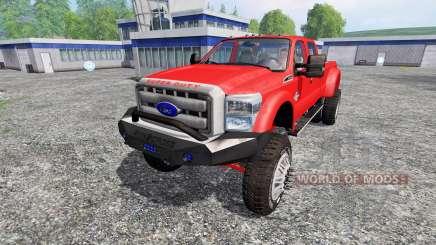 Ford F-450 [custom] para Farming Simulator 2015
