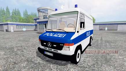Mercedes-Benz Vario Polizei para Farming Simulator 2015