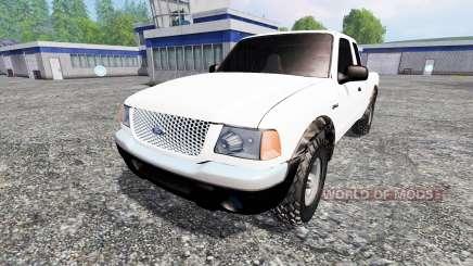 Ford Ranger 2001 para Farming Simulator 2015