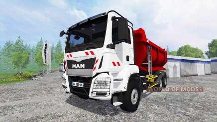 MAN TGS [tipper] para Farming Simulator 2015