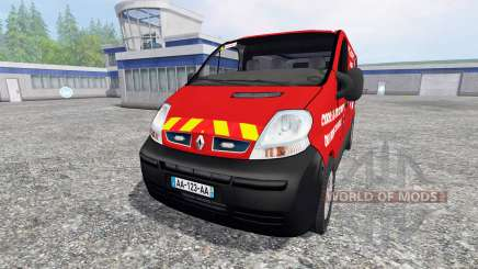 Renault Trafic VTU v3.0 para Farming Simulator 2015