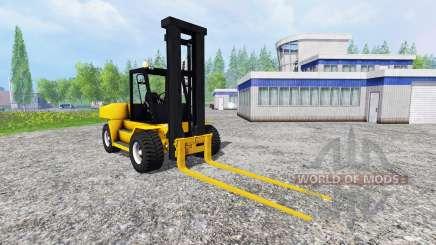Komatsu EX50 v1.85 para Farming Simulator 2015