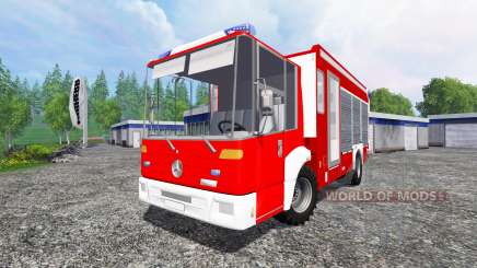 Mercedes-Benz Econic Feuerwehr para Farming Simulator 2015