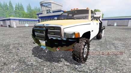 Dodge Ram 2500 [feed truck] para Farming Simulator 2015