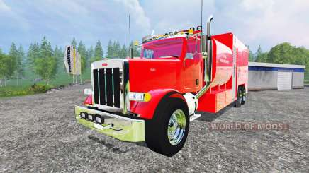 Peterbilt 378 Fire Department para Farming Simulator 2015