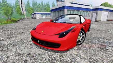 Ferrari 458 Italia para Farming Simulator 2015