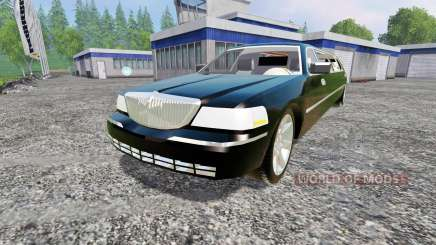 Lincoln Town Car Limousine para Farming Simulator 2015