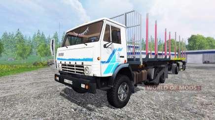KamAZ-53212 [de madera] para Farming Simulator 2015