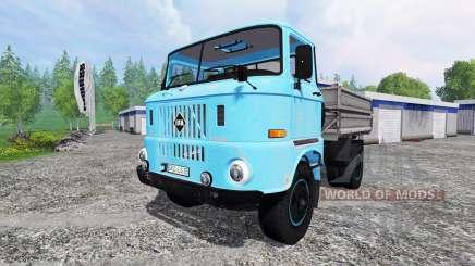 IFA W50 [azul] para Farming Simulator 2015