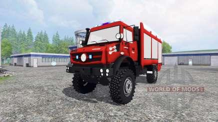 Mercedes-Benz Unimog U5023 [pack] para Farming Simulator 2015