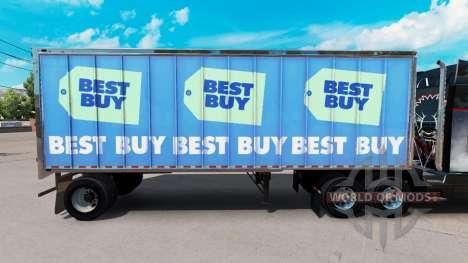 La piel Mejor Comprar en el pequeño remolque para American Truck Simulator