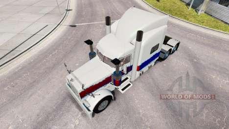 La piel de La Perla en el camión Peterbilt 389 para American Truck Simulator