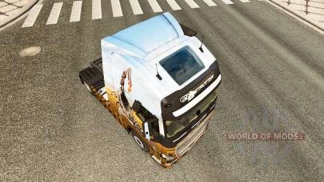 Escorpión de la piel para camiones Volvo para Euro Truck Simulator 2