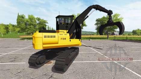 Agarrar retroexcavadora para Farming Simulator 2017