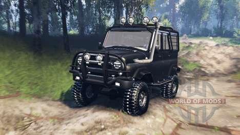UAZ-31520 v3.0 para Spin Tires