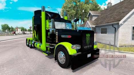 La piel del Monstruo de la Energía Verde en el c para American Truck Simulator