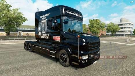 Fulda piel para camión Scania T para Euro Truck Simulator 2