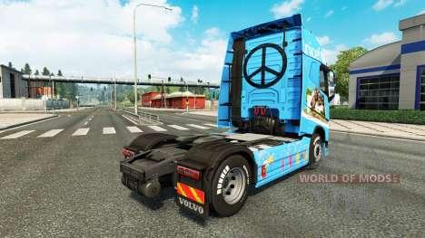 Unicef piel para camiones Volvo para Euro Truck Simulator 2