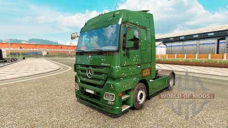 Las balas de los Agujeros de la piel para Merced para Euro Truck Simulator 2