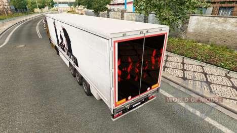 La piel de BUG Mafia para remolques para Euro Truck Simulator 2