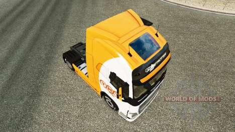 TNT piel para camiones Volvo para Euro Truck Simulator 2