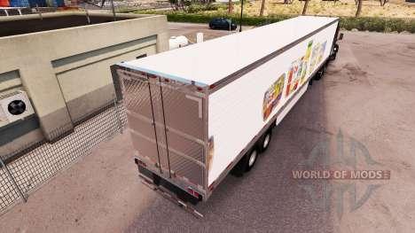 Dole piel trailer extendido para American Truck Simulator