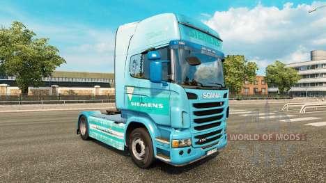 Siemens piel para Scania camión para Euro Truck Simulator 2