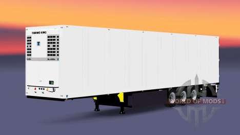 Semitrailer el refrigerador Schmitz Cargobull para Euro Truck Simulator 2