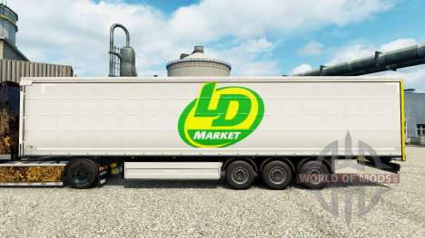 La piel LD Mercado para remolques para Euro Truck Simulator 2