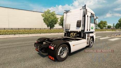 La piel Arla v2.0 tractor Renault para Euro Truck Simulator 2