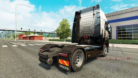 Euro Express de la piel para camiones Volvo para Euro Truck Simulator 2