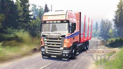 Scania R620 para Spin Tires