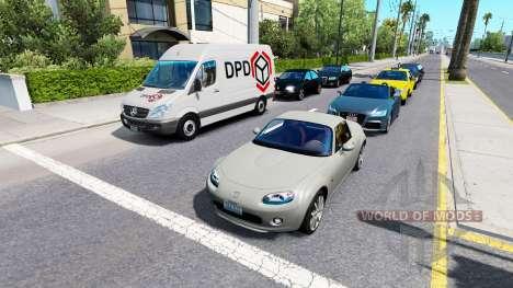 De tráfico avanzada v1.4 para American Truck Simulator