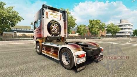 La piel de la Copa del Mundo de 2014 en el tract para Euro Truck Simulator 2