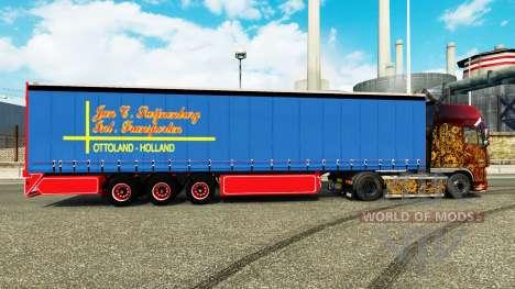 La cortina de lado semi-remolque de enero de Swi para Euro Truck Simulator 2