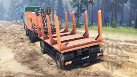 MAZ-6317 para Spin Tires