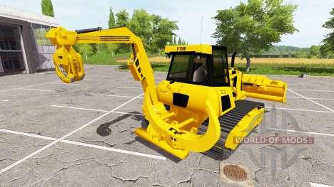 La silvicultura crawler dozer para Farming Simulator 2017