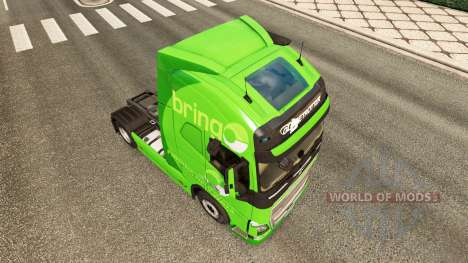 Traer la piel para camiones Volvo para Euro Truck Simulator 2