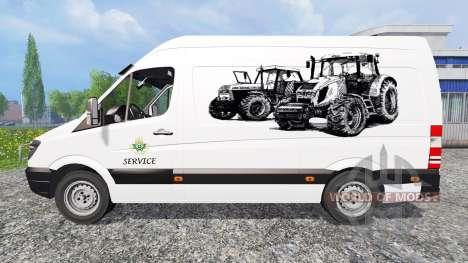 Mercedes-Benz Sprinter [service] para Farming Simulator 2015