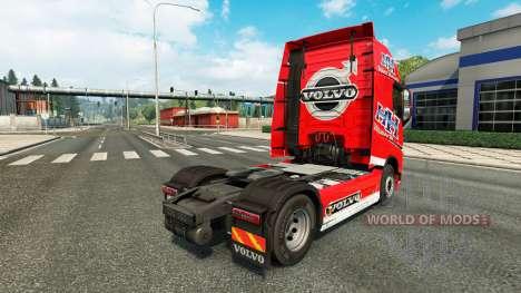 El Transporte pesado de la piel para camiones Vo para Euro Truck Simulator 2