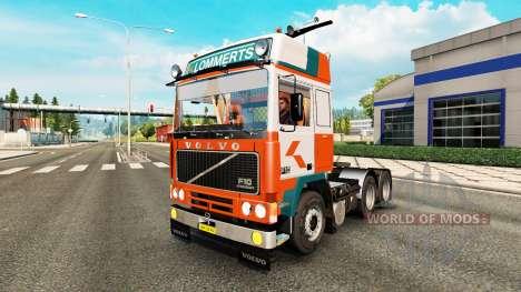 Volvo F10 Lommerts para Euro Truck Simulator 2
