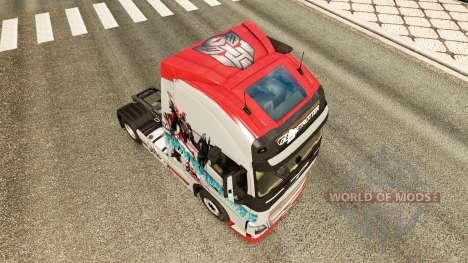 Los transformadores de la piel para camiones Vol para Euro Truck Simulator 2