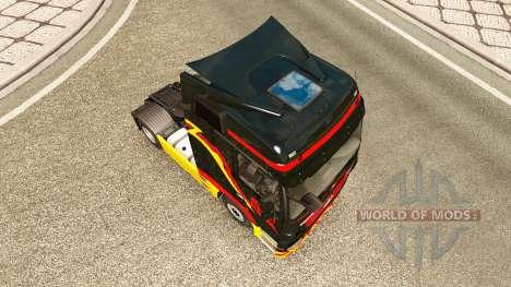 Pirelli piel para camión Mercedes-Benz para Euro Truck Simulator 2