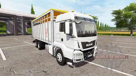 MAN TGS 18.440 animal para Farming Simulator 2017