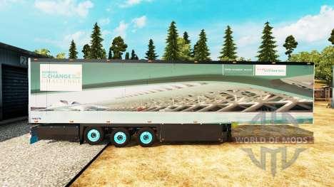 Semitrailer el refrigerador Schmitz Siemens para Euro Truck Simulator 2