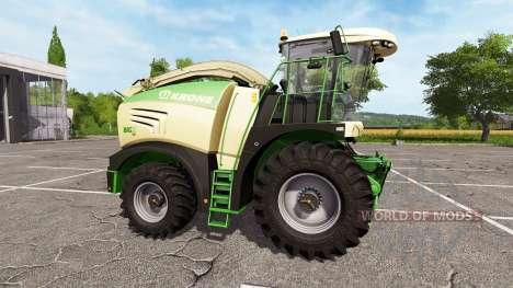 Krone BiG X 480 para Farming Simulator 2017
