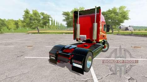 Scania T164 two-axle para Farming Simulator 2017